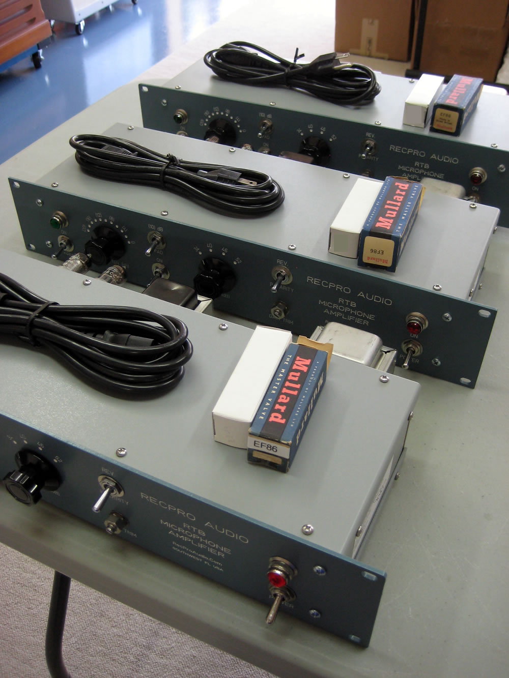 RTB Preamp Staging