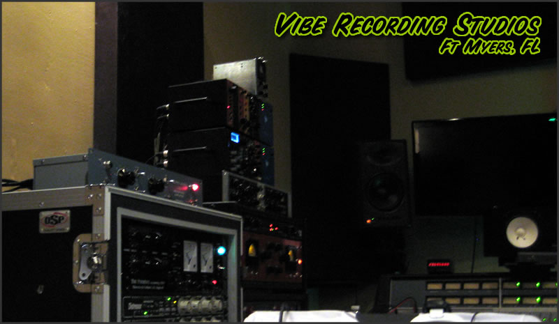 RecPro Audio RTB Preamp Recording at Vibe Studios in Ft Myers, Florida